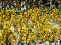 Rio Carnival. Dancers at Rio Carnival Royalty Free Stock Photography