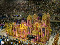 Rio Carnival. Large themed float at Rio Carnival, Brazil Stock Image