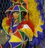 Rio Carnival 2014. A dancer performing during a carnival in Rio de Janeiro,Brazil 02 Mar 2014 No model release Editorial use only Royalty Free Stock Photos