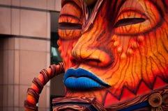 Rio Carnival Float Decorations imagens de stock