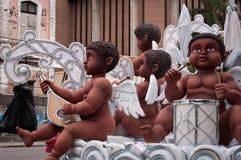 Rio Carnival Float Decorations imagem de stock