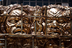 Rio Carnival Float Decorations imagem de stock royalty free