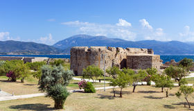 Rio castle, Peloponnese, Greece Royalty Free Stock Images