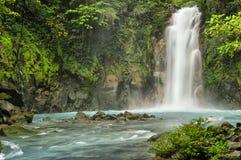 Rio Celeste Falls Imagen de archivo