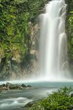 Rio Celeste Falls Stock Images