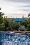Rio Celeste Hotel Pool. Rio  Celeste River in Costa Rica Royalty Free Stock Image