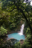Rio Celeste River Waterfall Royalty Free Stock Photography