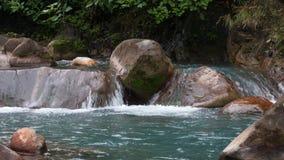 Rio Celeste rzeka Obrazy Royalty Free