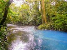 Rio Celeste. Tenorio volcano national park, Costa Rica Stock Images