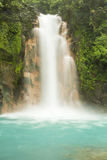 Rio Celeste Waterfall Royalty Free Stock Photo