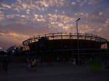 Rio 2016 - centro olimpico di tennis fotografia stock
