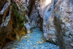Rio Chillar amusant en Espagne image stock