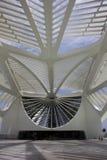 Rio City Hall öffnet das Museum des Morgens im Hafengebiet Lizenzfreies Stockbild