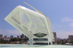 Rio City Hall opens the Museum of Tomorrow in the Port Area Royalty Free Stock Photo