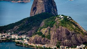 RIo City Scape Skyline Brazil royalty free stock image