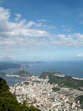 Rio City View With Sugar Loaf Royalty Free Stock Photos