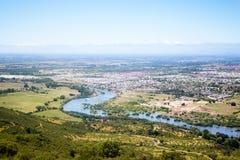 Rio Claro in Talca Immagine Stock Libera da Diritti