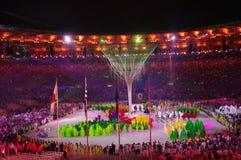 Rio2016 colosing ceremonies at Maracana Stadium Stock Image