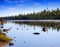 Rio com pedras Foto de Stock