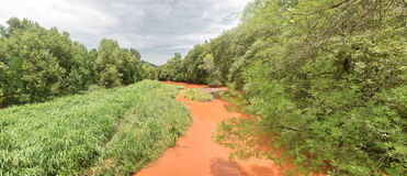 Rio da angra do carvalho no Arizona Fotos de Stock Royalty Free