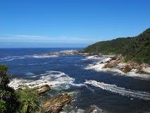 Rio da boca no parque nacional de Tsitsikamma Foto de Stock Royalty Free