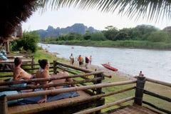 Rio da canção de Nam Imagens de Stock