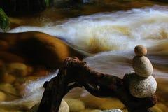 Rio da caverna fotografia de stock