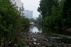 Rio da cidade Imagens de Stock