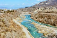 Rio da mola em Geórgia imagem de stock royalty free