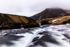 Rio da montanha Foto de Stock