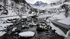 Rio da neve e do CI Imagens de Stock