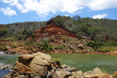Rio da paisagem Fotografia de Stock