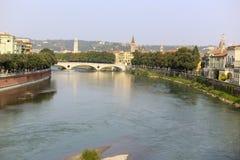 Rio de Adige Foto de Stock