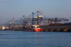 Rio de Bilbao imagens de stock