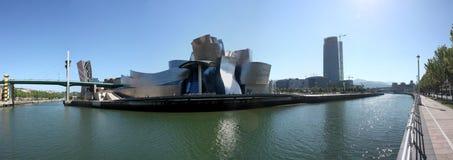 Rio de Bilbao Nervion Fotografia de Stock Royalty Free