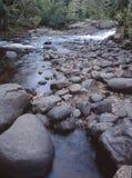 Rio de Brule que flui no Lago Superior Imagem de Stock