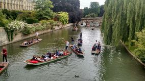 Rio de Cambridge Imagens de Stock Royalty Free