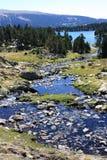 Rio de Camporells em Pyrenees Imagens de Stock Royalty Free