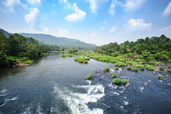Rio de Chalakudy Fotografia de Stock