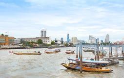 Rio de Chao Phraya fotos de stock royalty free