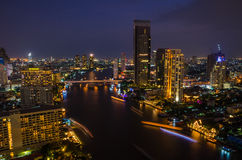Rio de Chaophraya Foto de Stock Royalty Free
