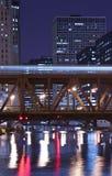 Rio de Chicago Fotografia de Stock