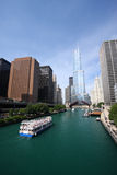 Rio de Chicago, Estados Unidos Foto de Stock Royalty Free