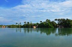 Rio de Chukai Foto de Stock