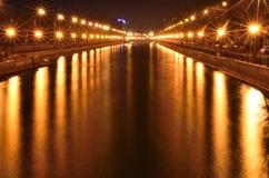Rio de Dambovita Imagens de Stock Royalty Free