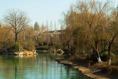 Rio de Daming Lake imagem de stock