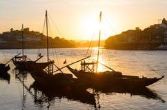 Rio de Douro em Porto fotografia de stock royalty free