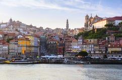 Rio de Douro em Porto imagens de stock royalty free