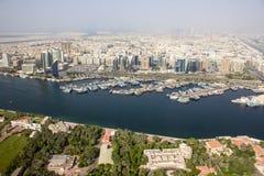 Rio de Dubai Creek, Dubai Fotos de Stock