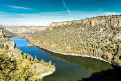 Rio de Duraton em Segovia imagens de stock royalty free